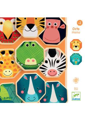 Djeco Djeco memorie wilde dieren