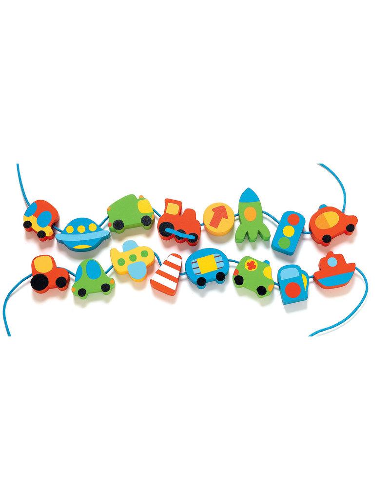 Djeco Djeco rijgkralen voertuigen Filavroum dj06169