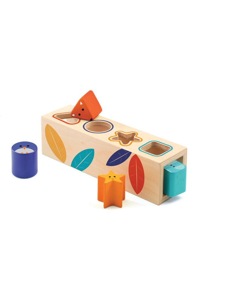 Djeco Djeco houten vormenstoof Biota basic dj06202