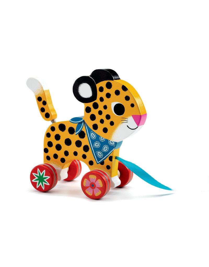 Djeco Djeco trekdier luipaard Greta dj06220