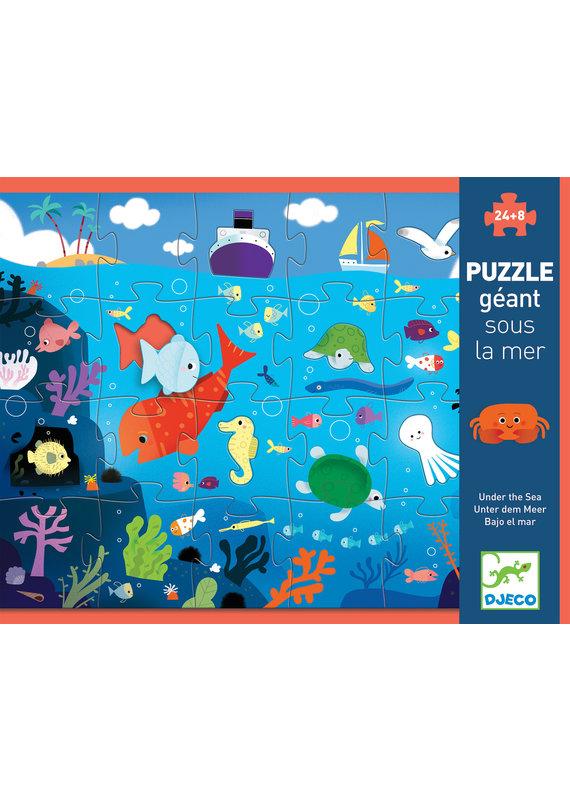 Djeco Djeco reuzenpuzzel in de zee