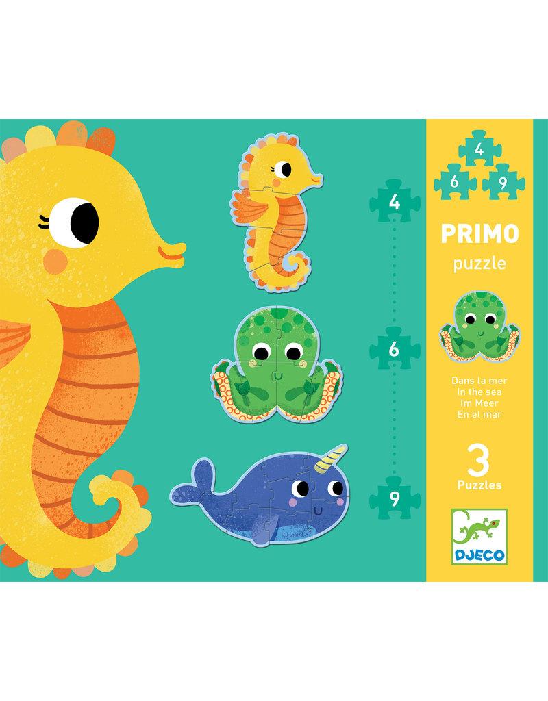 Djeco Djeco puzzel primo in de zee dj07144
