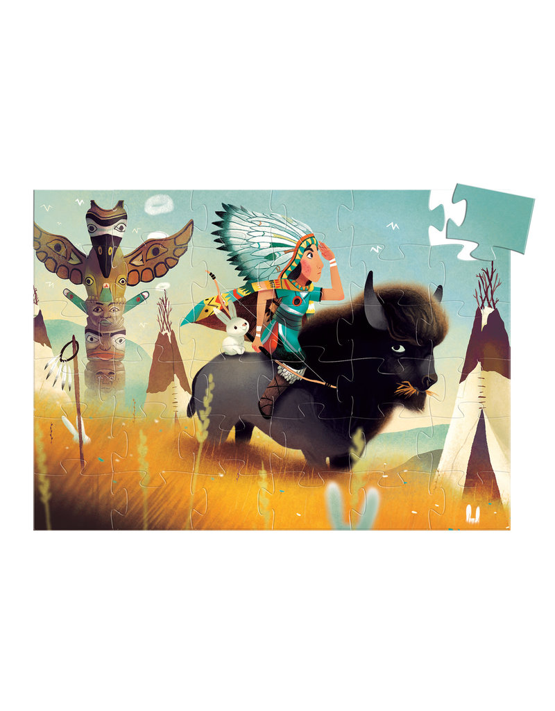 Djeco Djeco puzzel indiaan dj07224