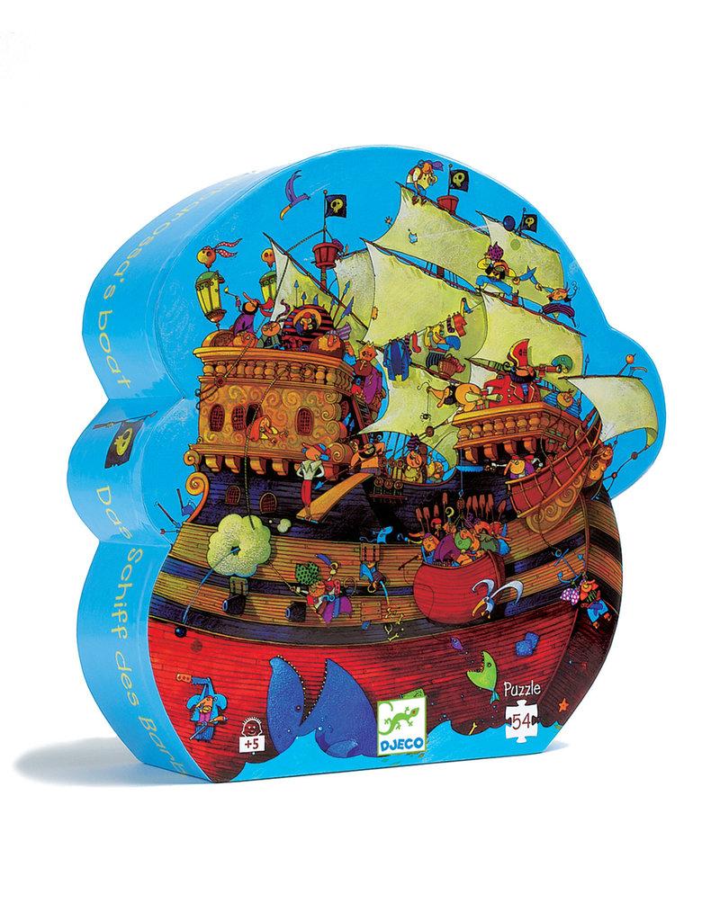 Djeco Djeco puzzel piratenschip dj07241
