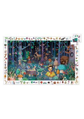 Djeco Djeco puzzel het betoverende bos