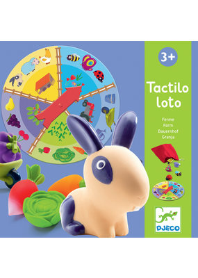 Djeco Djeco spel tactilo loto farm