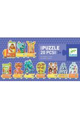 Djeco Djeco tel puzzel dieren dj08150