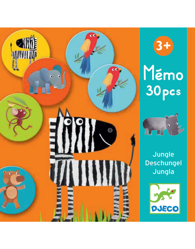 Djeco Djeco memorie Jungle dj08159