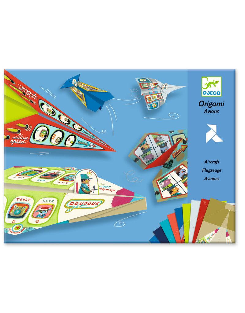 Djeco Djeco origami vliegtuigen dj08760