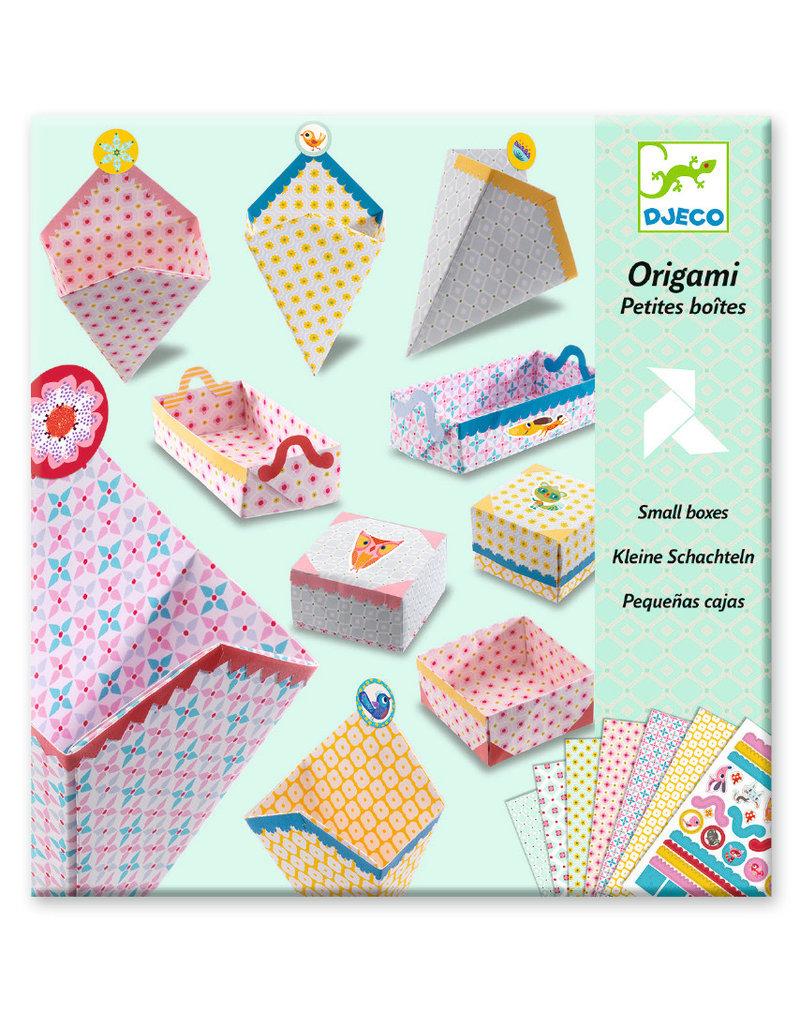 Djeco Djeco origami doosjes vouwen dj08774