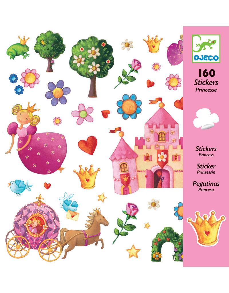 Djeco Djeco stickers prinsessen dj08830