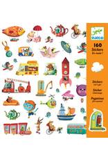 Djeco Djeco stickers onderweg dj08844