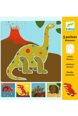 Djeco Djeco tekensjablonen Dino dj08863