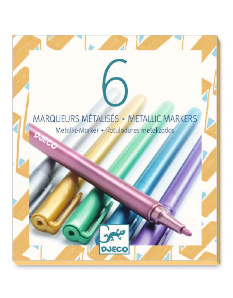 Djeco Djeco Metallic markers dj08870