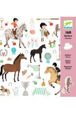 Djeco Djeco stickers paarden dj08881