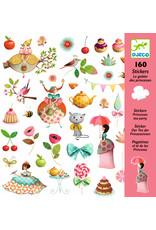 Djeco Djeco stickers prinsessen theekransje dj08884