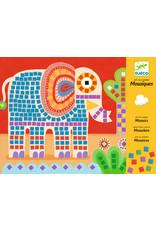 Djeco Djeco mozaiek slak en olifant dj08895