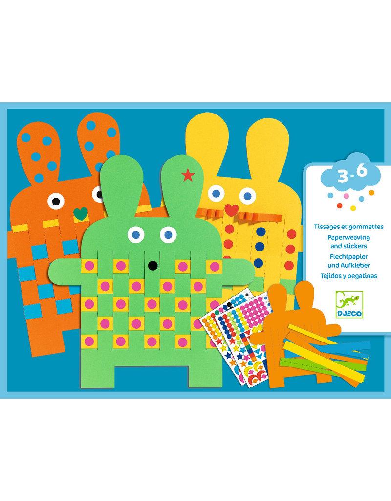 Djeco Djeco knutselset konijnen dj08938