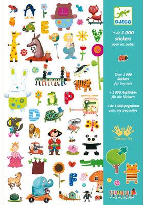 Djeco Djeco 1000 stickers