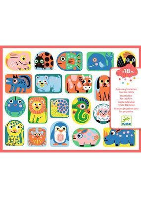Djeco Djeco grote stickers dieren