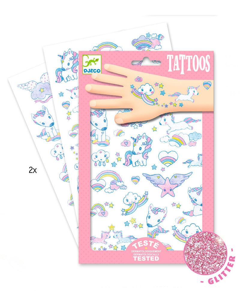 Djeco Djeco tattoos eenhoorn dj09575