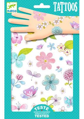 Djeco Djeco tattoos Flowers