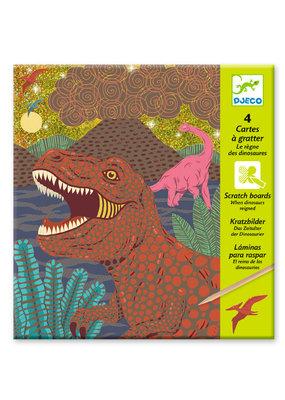 Djeco Djeco kraskaarten Dino