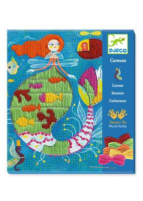 Djeco Djeco borduren zeemeermin