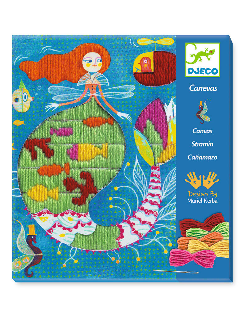 Djeco Djeco borduren zeemeermin dj09828