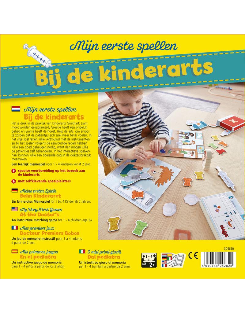 Haba Haba mijn eerste spellen Bij de kinderarts