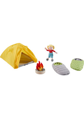 Haba Haba Little Friends speelset kamperen