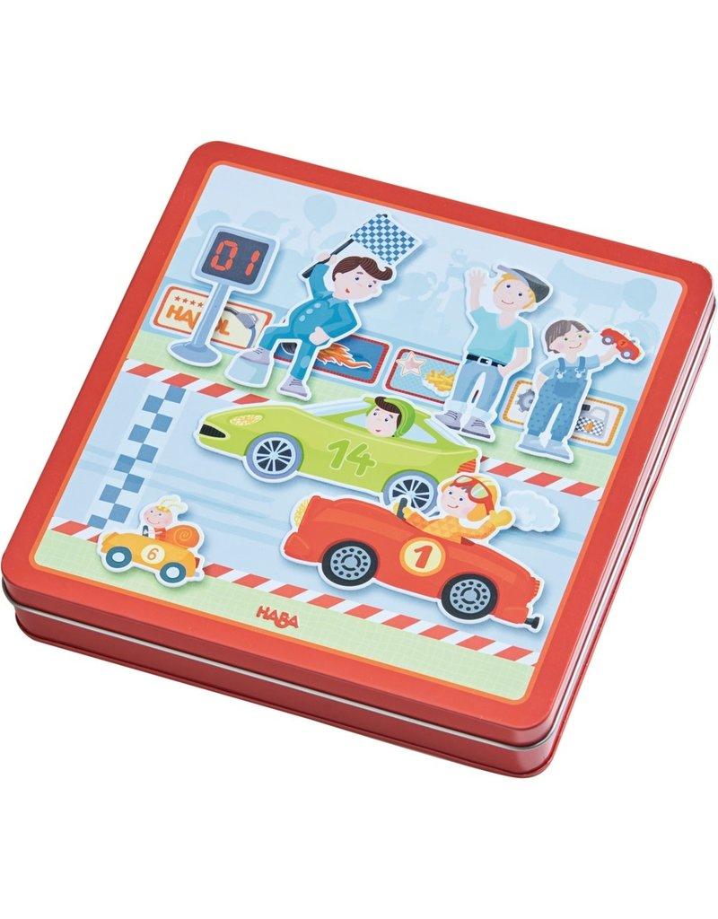 Haba Haba magneetspel snelle sportwagens