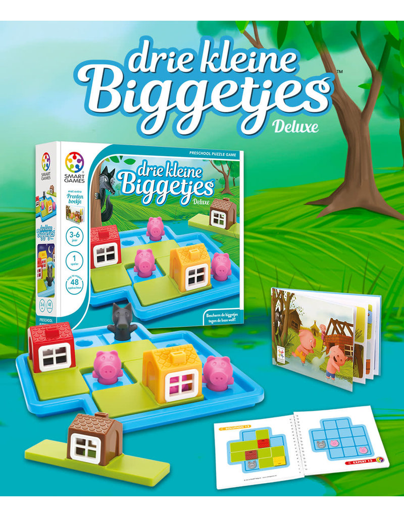 Smart games SmartGames drie kleine biggetjes
