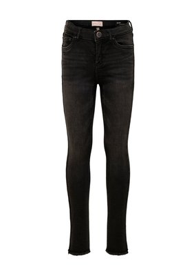 Kids Only Kids Only Konblush Skinny raw jeans 1099 black denim