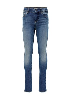 Kids Only Kids only konblush Skinny raw jeans 1099 medium blue denim