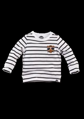 Z8 Newborn Z8 newborn longsleeve Stockholm bright white black stripes