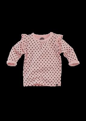 Z8 Newborn Z8 newborn longsleeve Lisbon soft pink dots