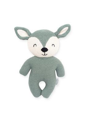 Jollein Jollein knuffel deer ash green