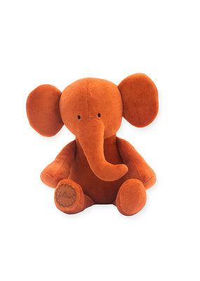 Jollein Jollein knuffel elephant rust