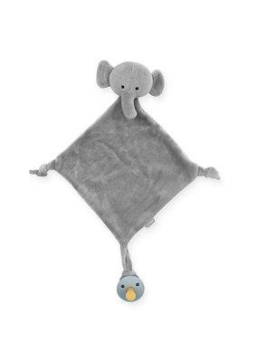 Jollein Jollein knuffeldoekje elephant storm grey