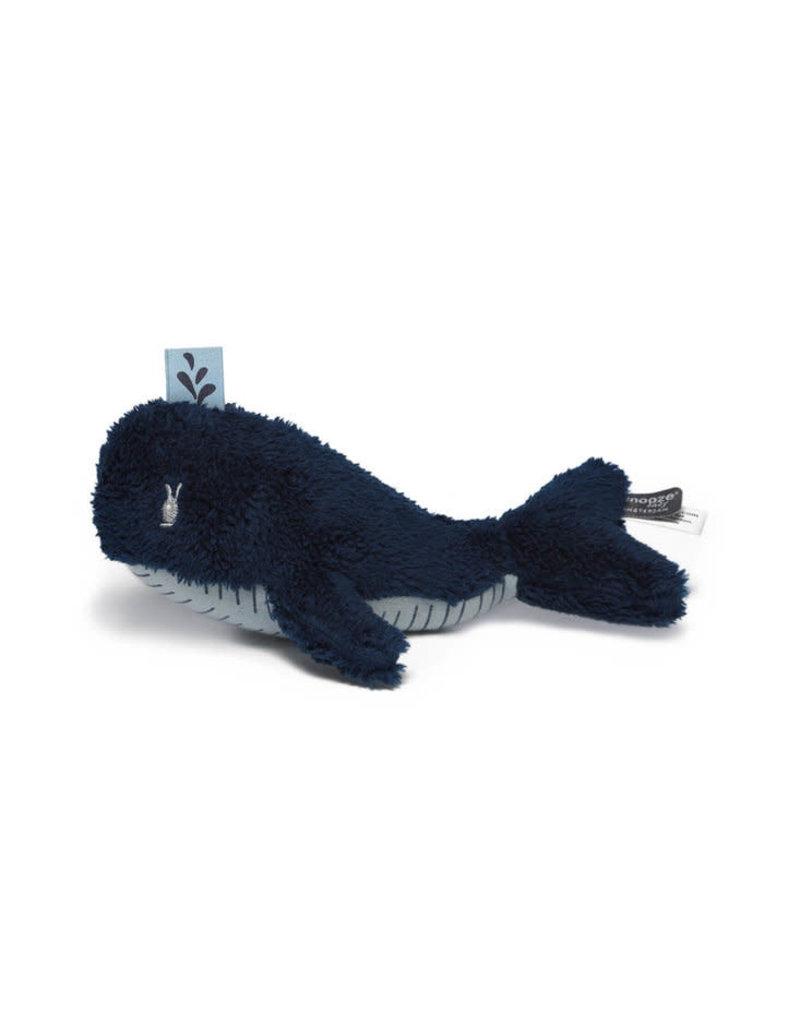 Snoozebaby Snoozebaby knuffeltje wally whale mid blue