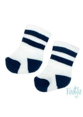 Feetje Feetje sokken Smile  Wave wit