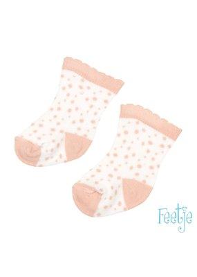 Feetje Feetje sokken Shells wit