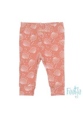 Feetje Feetje legging aop Shells roze
