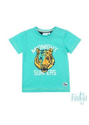Feetje Feetje shirt Midnight Surfers Mini  Wanderer mint