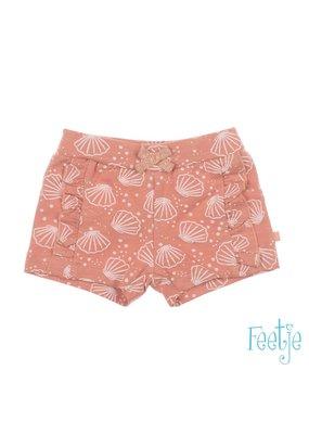 Feetje Feetje short aop Shells l.roze