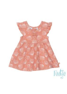 Feetje Feetje jurk aop Shells roze