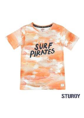 Sturdy Sturdy shirt The Surf Pirates Treasure Hunter oranje