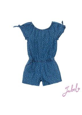 Jubel Jubel denim playsuit aop Summer Denims blue denim