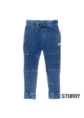 Sturdy Sturdy sweatbroek denim look Wild Wanderer blue denim